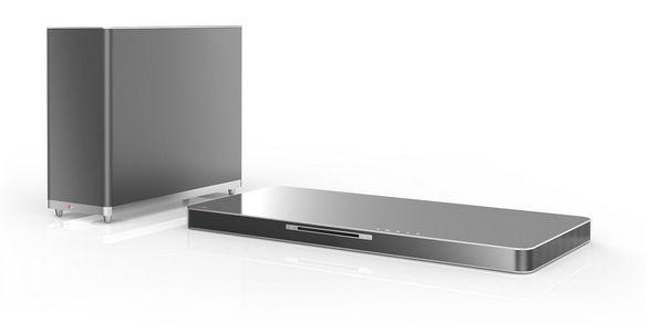 LG LAB540 4.1 SoundPlate, 3D Blu ray Player und kabellosem Subwoofer für 487,89€