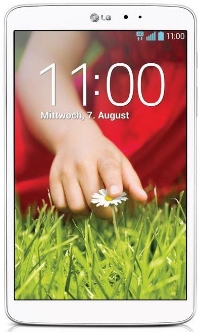 LG LG G Pad 8.3 V500  Tablet mit 16GB und WiFi für 197€   Update