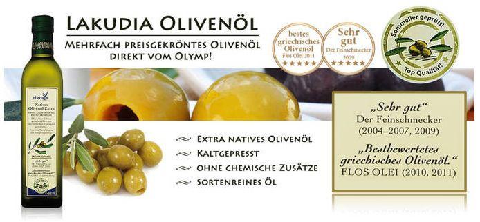 Lakudia Nativ Extra Olivenöl   1,5 Liter für 6,99€   Update!