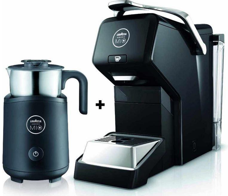 AEG Lavazza Espria Kaffeekapselautomat + Milchschäumer für 79€   Update