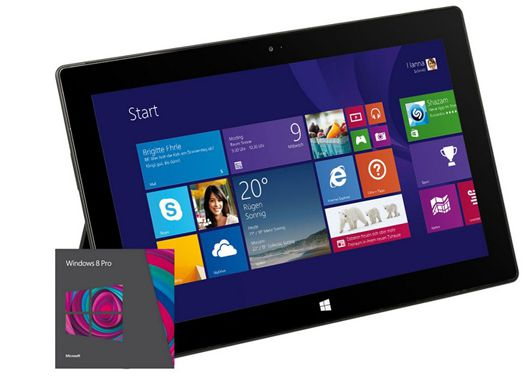 Microsoft Surface Pro 2 Microsoft Surface Pro 2 (10 Display, Intel i5, 128GB SSD, Windows 8.1) für 549€