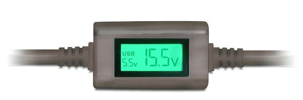 NaviLock 41326   Universal Notebook Netzteil (9,5   24V) + USB 90W 10 Adapter für 15,80€