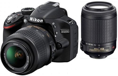 Nikon D5100 im Kit mit 2 Objektiven (18 55 mm + 55 200 mm) ab 499€