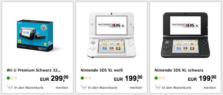Nintendo Konsolen 15% Rabatt auf alle Nintendo Konsolen im Interspar Shop
