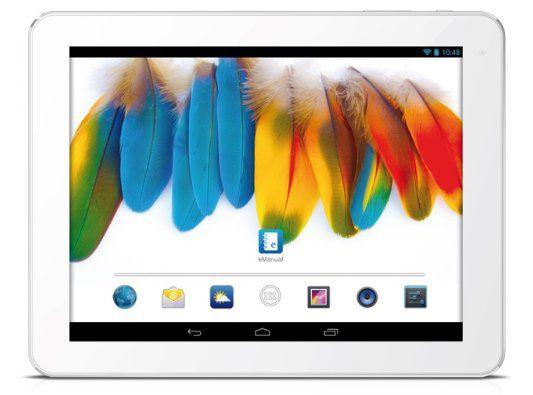 Odys Iron   9,7 Tablet (Quad Core, 2GB Ram, 16GB, HD IPS Display (2048 x 1536) und Android 4.2.x) für 131,39€ (Vergleich: 181€)