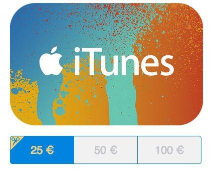 Paypal Gifts: 20% Rabatt auf 25€, 50€ oder 100€ iTunes Guthaben Karten