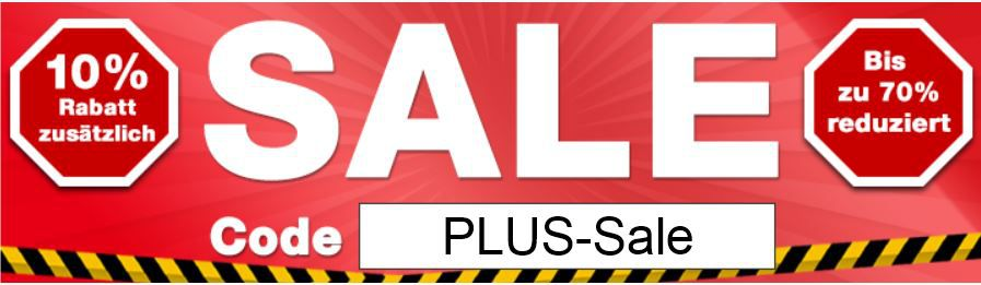 Plus4 Plus.de SALE mit 70% Rabatt + 10% Extra Rabatt!
