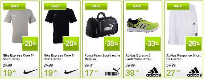 Plutosport Angebote Plutosport: Adidas, Nike, Asics und Puma Artikel stark reduziert + 5€ Gutschein
