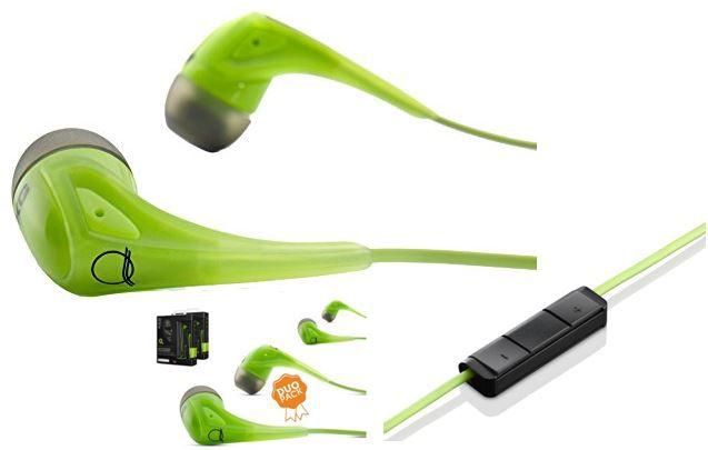AKG Q350   grünes Headset (Duo Pack) mit Fernbedienung und Mikro für 35,90€