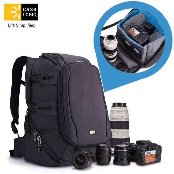 SLR CaseLogic DSB 103   Split Pack SLR Kamerarucksack für 55,90€   Update