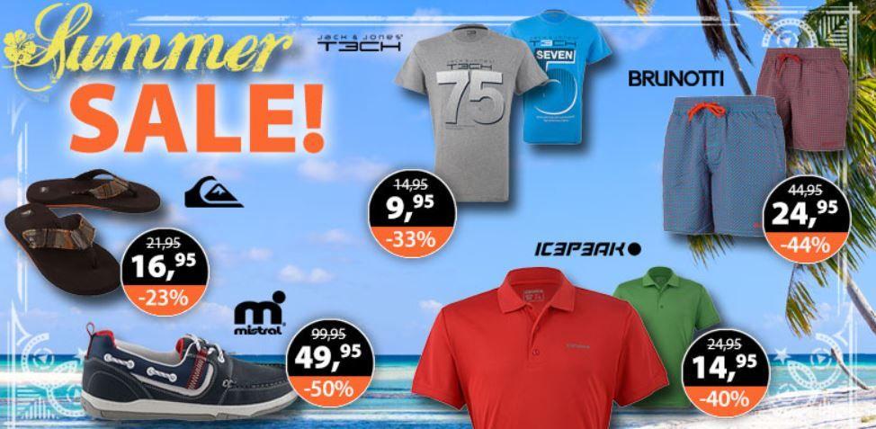 Sale1 Plutosport   Summer Sale mit bis zu 65% Rabatt + 5€ Gutschein (Adidas, VANS, Puma…)