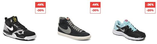 Sarenza mit bis zu 50% Rabatt auf ausgewählte Damen und Herren Schuhe   auch Puma, Converse, Nike ...