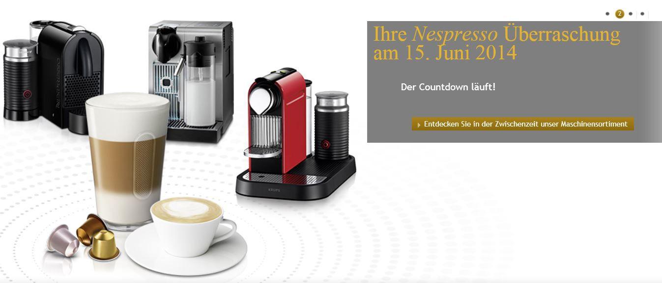 KRUPS Nespresso Pixie + Aeroccino3 für 135€ + 80€ Cashback Aktion jetzt auch bei Amazon!