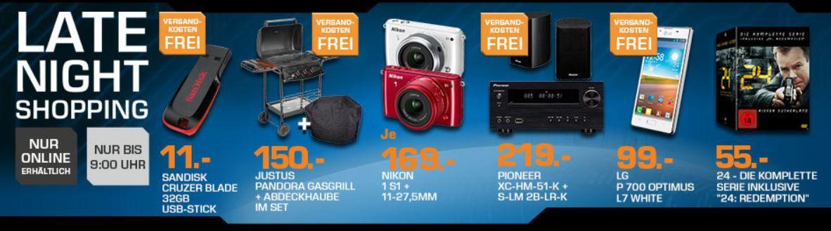PIONEER XC HM51 K schwarz + 2 Lautsprecher für 219€ und mehr Saturn Late Night Sale Angebote