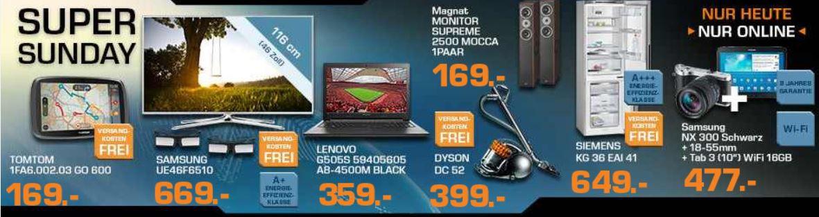 Saturn7 MAGNAT Monitor Supreme 2500 Mocca ab nur 169€ und mehr bei den Saturn Super Sunday Angeboten