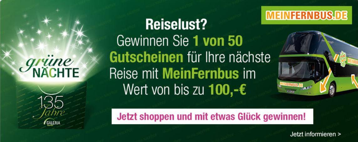 Galeria Kaufhof grüne Nächte   Late Night Shopping mit guten Angeboten!