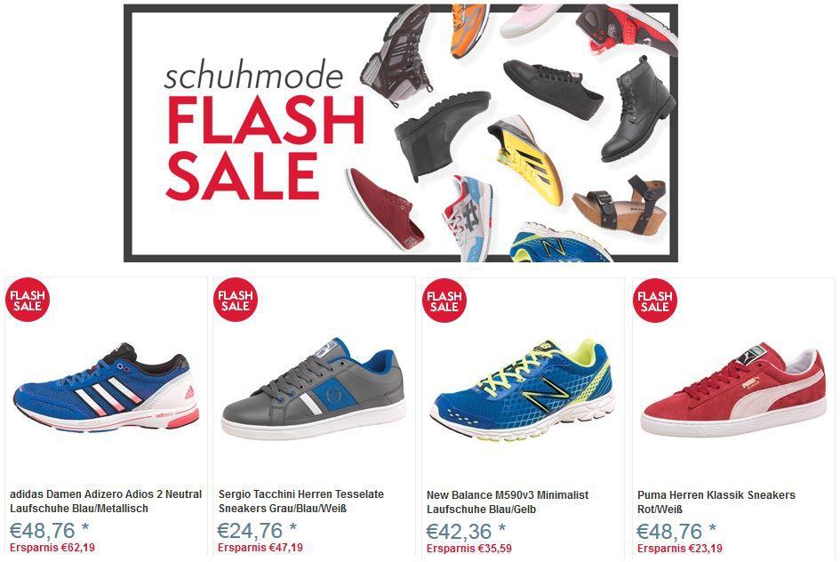 Schuh Flash Sale @MandmDirect + Versandkostenfrei z.B. adidas Adizero Adios 2 ab 48,76€