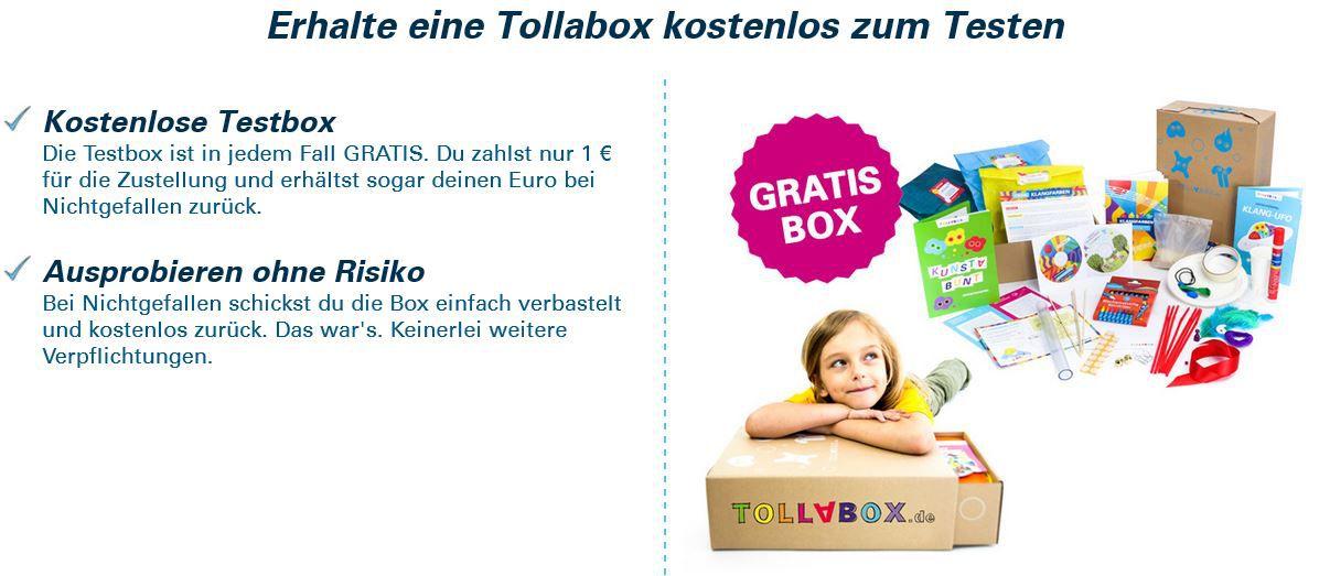Tollabox    Kinder Spielzeug Kiste für nur 1€! Knaller