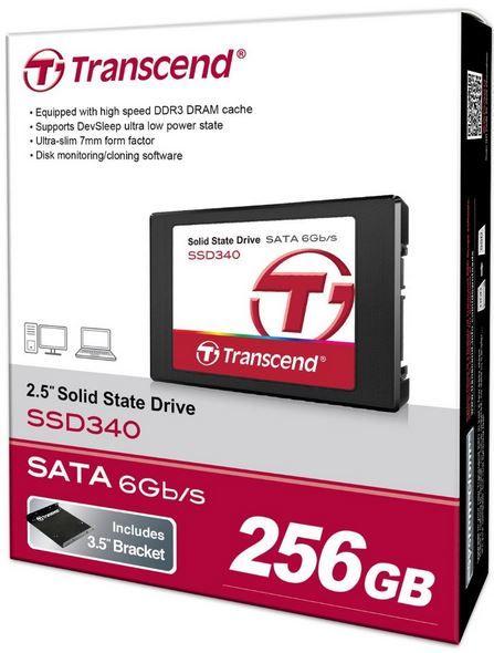 Transcend TS256GSSD340   256GB SSD für 89,60€