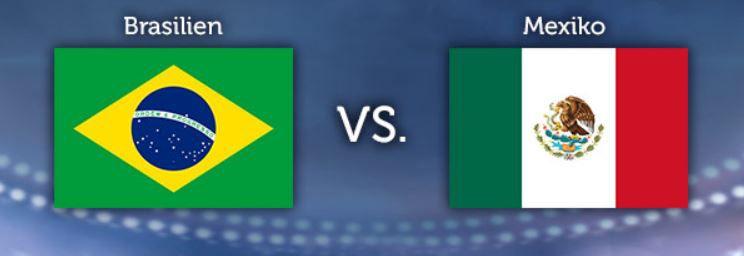 WM Tippgewinnspiel   6.Tag: Brasilien – Mexiko