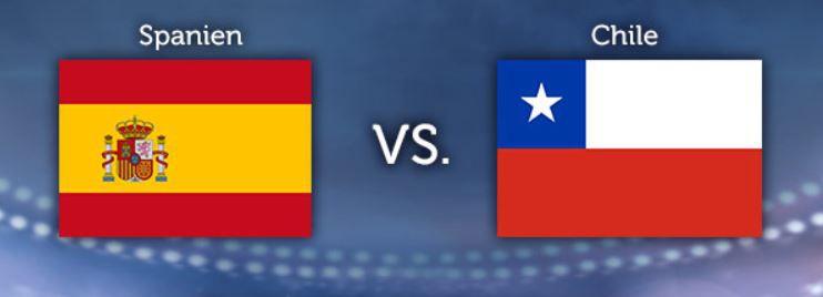 WM Tippgewinnspiel   7.Tag: Spanien – Chile