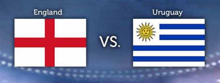 WM Tipp3 WM Tippgewinnspiel   8.Tag:  England – Uruguay