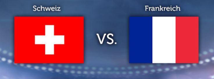 WM Tippgewinnspiel   9.Tag:  Schweiz   Frankreich