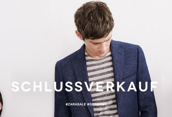 Schlussverkauf bei Zara mit vielen interessanten Angeboten