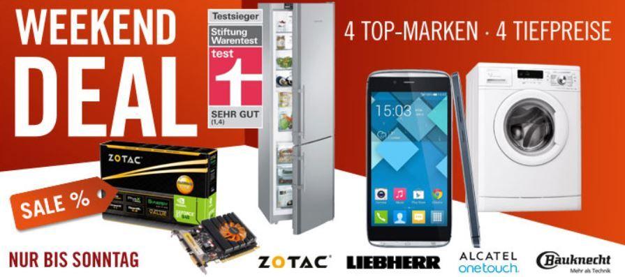 Bauknecht WA Champion 74 Waschmaschine für 399€ und mehr Cyberport Weekend Deals