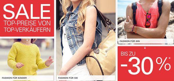 Bis zu 30% Rabatt beim eBay Summer Sale (Elektronik, Spielzeug, Sport, Haus & Garten, Fashion und Autozubehör)