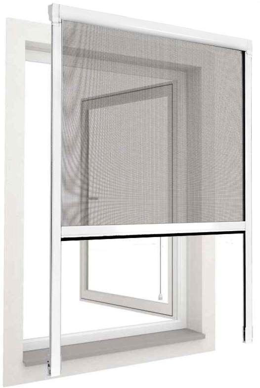 ebay wow Insektenschutz Fenster Rollo   Aussenmontage für 19,90€ inkl. Versand