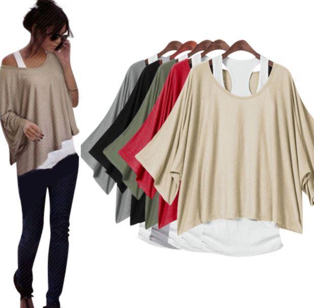 MERISH Batwing   Damen Longshirt für nur 16,90€