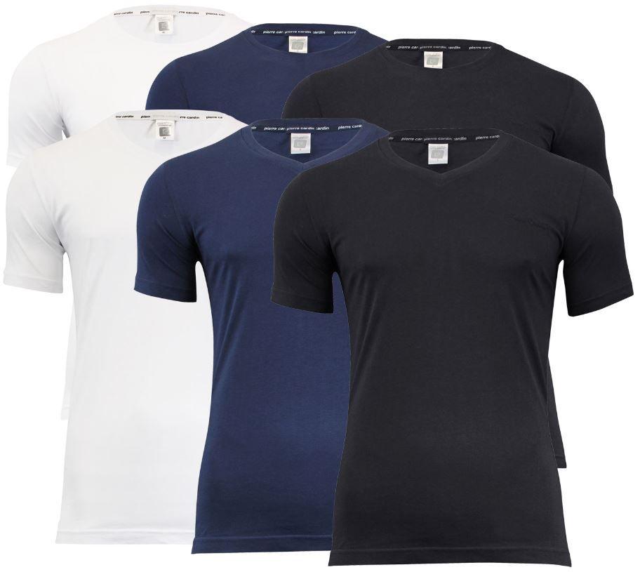 ebay15 4er Pack Pierre Cardin T Shirts V Neck oder Rundhals für je 17,99€