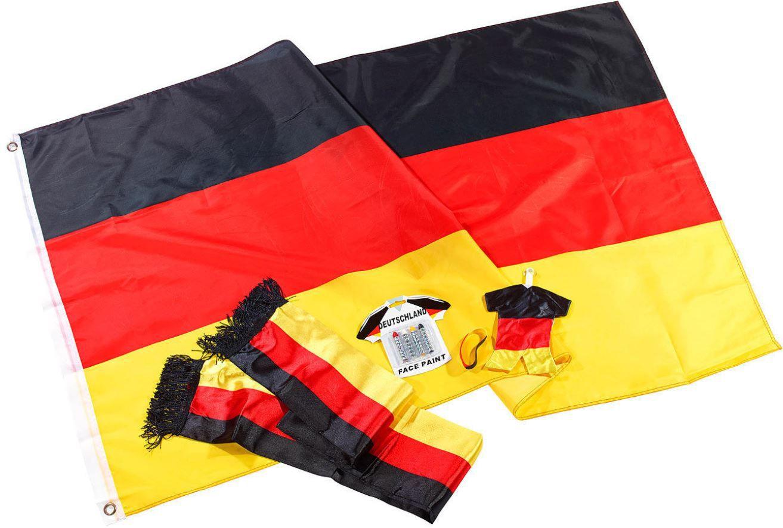 ebay28 PEARL Fan Set Deutschland, 6 teilig  für nur 8,95€ inkl. Versand.
