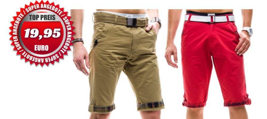 Hikis Jeans   Herren 3/4 Bermuda Shorts für je 19,95€ inkl. Versand