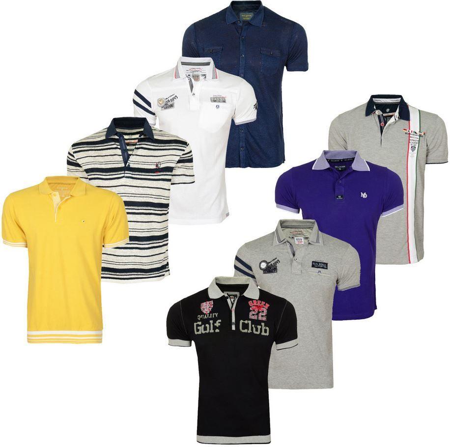 MCL   Herren kurzarm Polo Shirts, 36 Farben/Modelle für je nur 9,90€ in. Versand   Update!