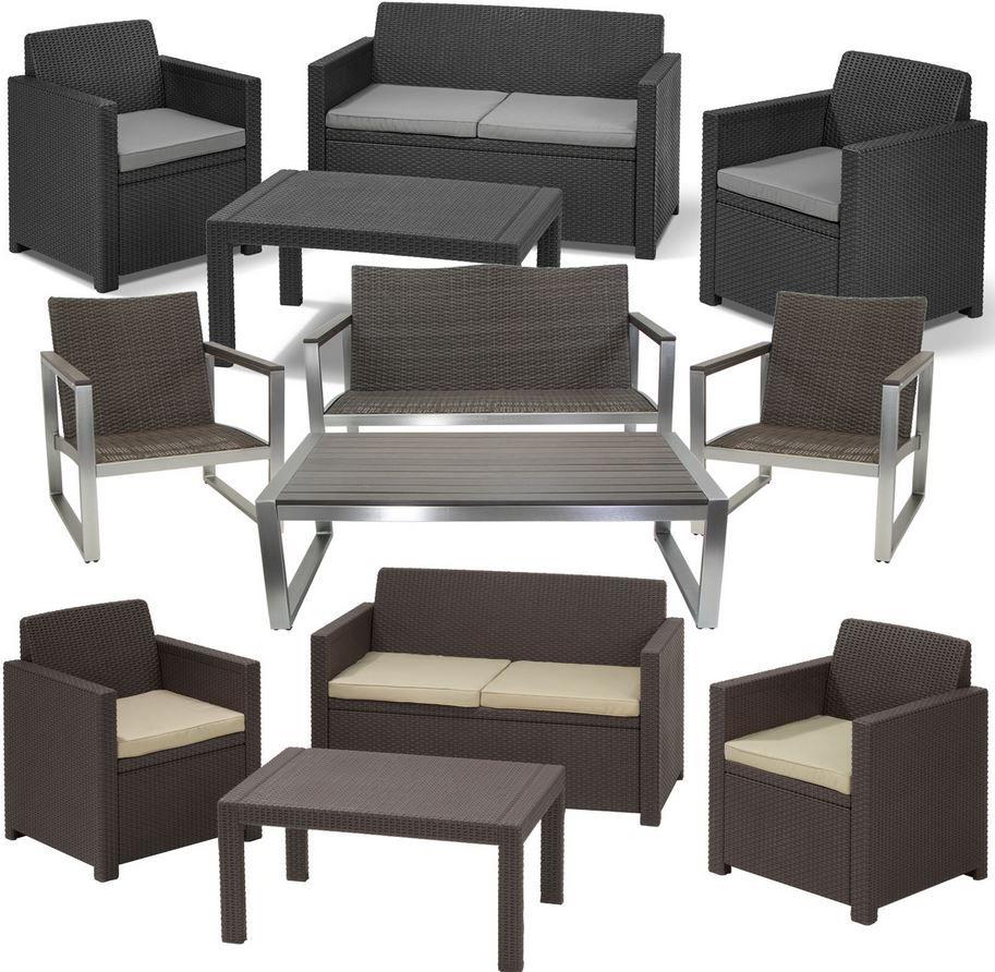 Garten Lounge Set Riviera oder Merano coole Sitzgarnituren für je 199€