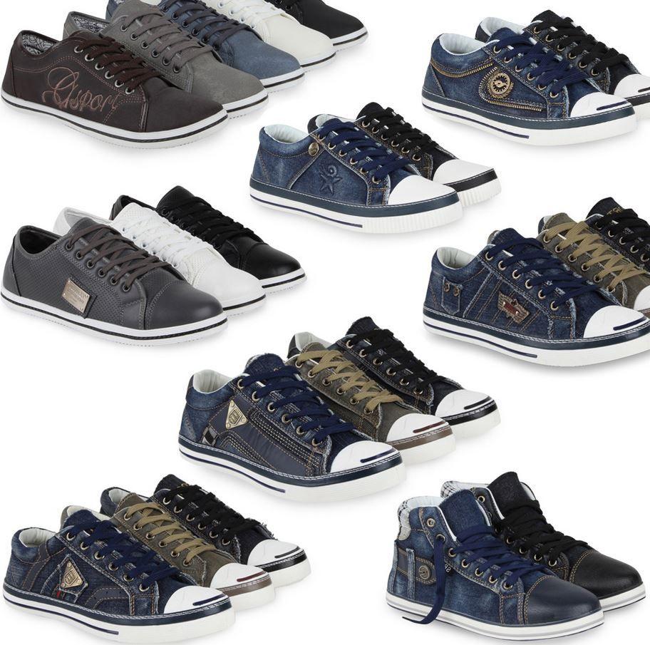 ebay6 Herren Sneaker    16 Modelle inkl. Versand je Paar nur 14,90€