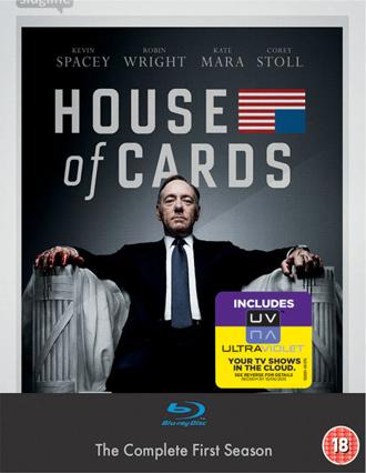Soll gut sein: House of Cards, erste Staffel auf Blu ray für 16€