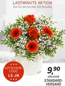 Blumenstrauß – Lovely Sunset für 9,90€ inklusive Versand
