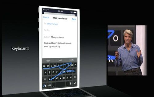 ios 8 swype1 Mein Deal informiert: Alles was ihr zu iOS 8 wissen müsst