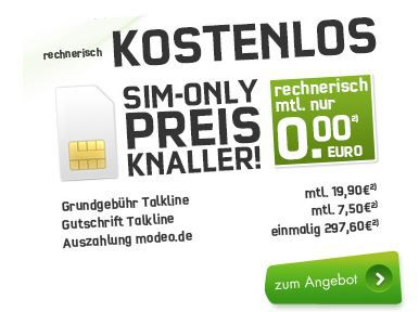 Telekom Talk Easy mit 100Freiminuten 3000 SMS und 200MB Flat effektiv KOSTENLOS!