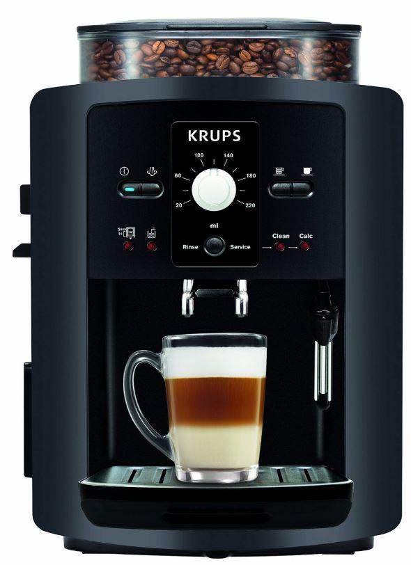 Krups EA 8000 Kaffee Vollautomat Espresseria Automatic (1.8 l, Dampfdüse) für 229€   Update!