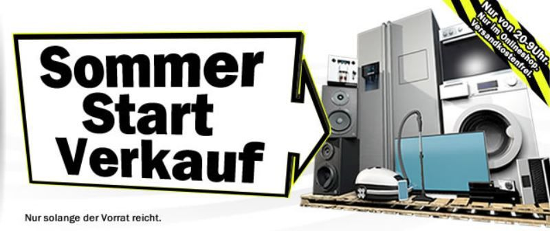 BAUKNECHT TK PRO 84 Waschmaschine für 599€   beim MediaMarkt Sommer Start V erkauf