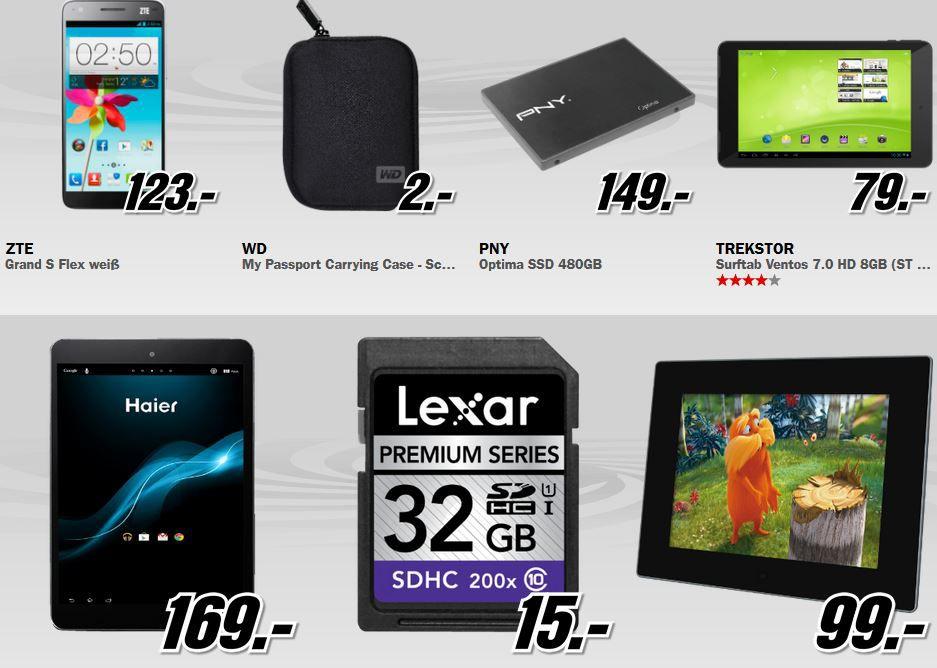 PNY Optima 480GB SSD für 149€   beim MediaMarkt Sommer Start Verkauf