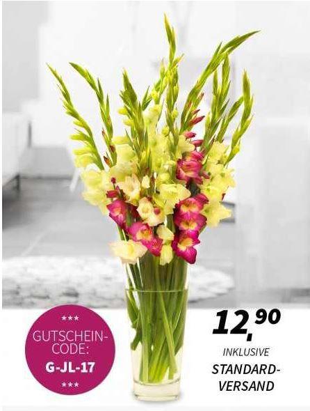 Blumenstrauß – Gladiolentraum für 12,90€ inklusive Versand