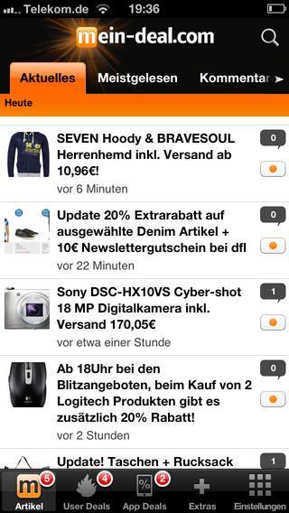 INFO! App Bugfixing Update laden!