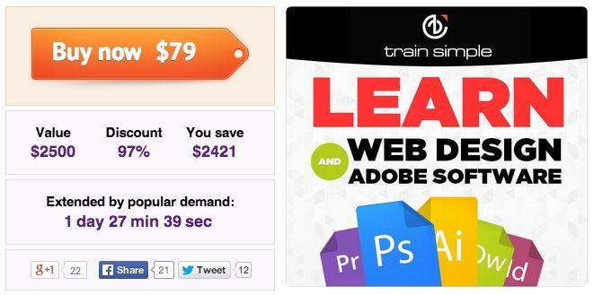 Adobe Training Lifetime Access Adobe Training Lifetime Access (über 5.000 Video Tutorials und mehr) für nur 58€