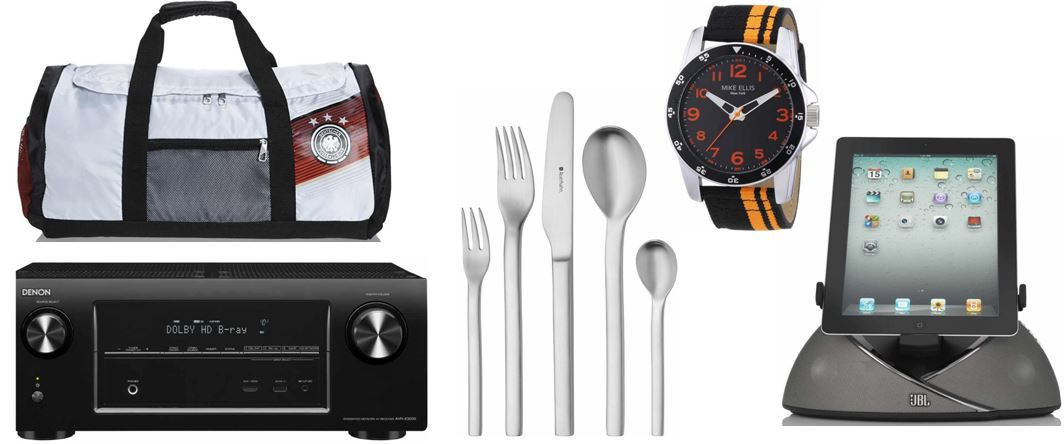 Auerhahn Mahno   60teilige Edelstahl Besteckgarnitur und mehr Amazon Blitzangebote