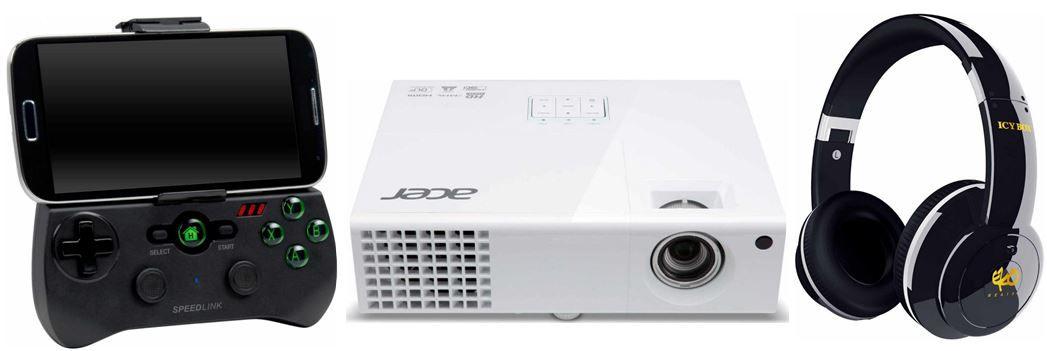 Amazon Blitz35 Acer X1373WH   3D WXGA DLP Projektor mit 3.000 ANSI Lumen für 299€ bei den Amazon Blitzangeboten